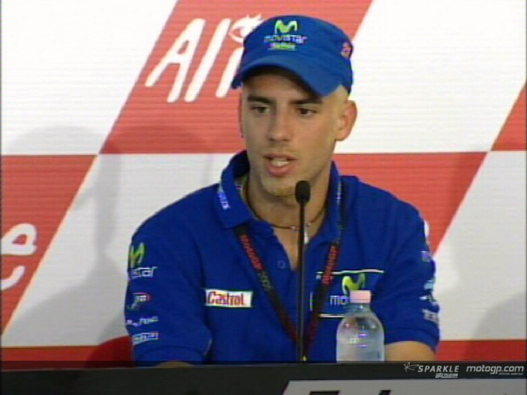 Marco Melandri interview - Pre-event Press Conference