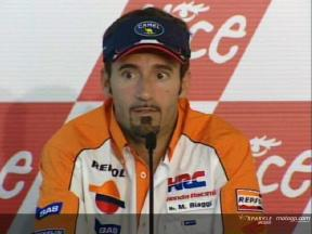 Entrevista a Max Biaggi - Pre-event Press Conference
