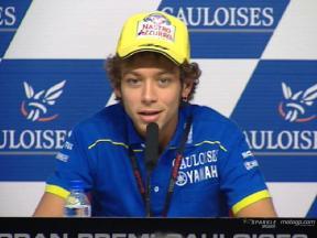 Interview de Valentino Rossi