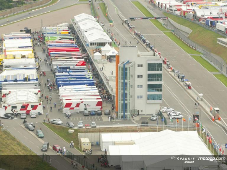 Sachsenring aerial view