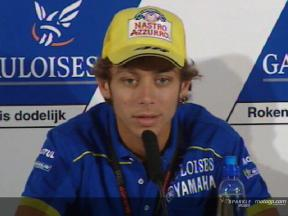 Interview de Valentino Rossi - pre-event press conference