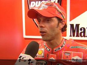 Intervista a Loris Capirossi post FP2