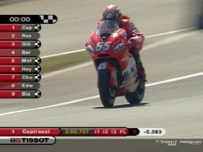 MotoGPクラス フリー走行2: ビデオハイライト