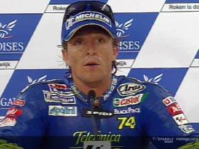Sete Gibernau interview after the QP