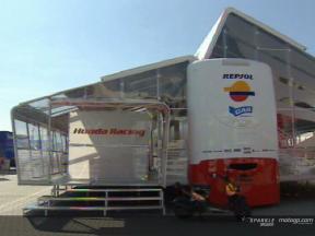 Honda estrena su nuevo hospitality en Assen