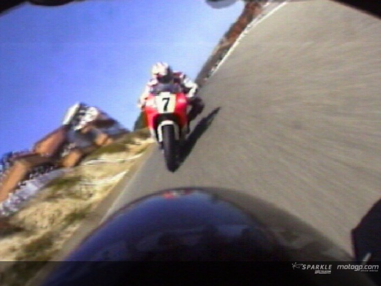 On board Laguna Seca 1993