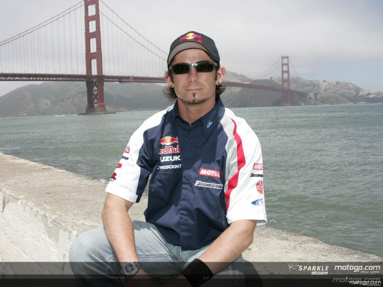 MotoGP riders hang out in San Francisco