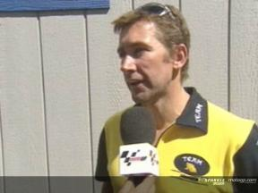 Troy Bayliss Interview nach dem QP