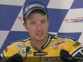 Colin Edwards interview after the race