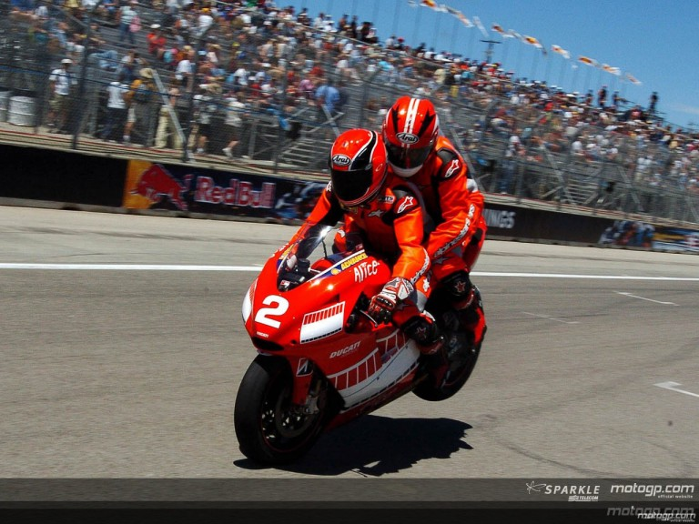 On and off-track action for Laguna Seca´s VIP