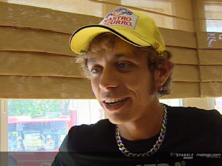 Valentino Rossi interview