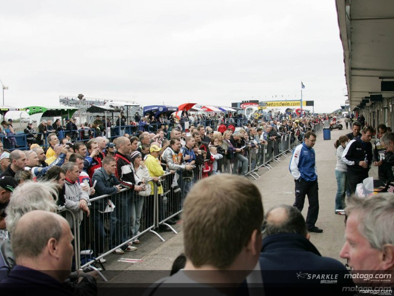 The day of champions returns to fill the paddock at Donington
