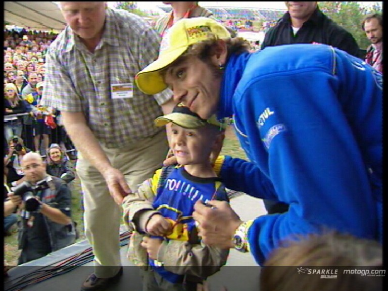 The stars of MotoGP, supporters of the Day of Champions auction