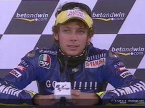 Valentino Rossi interview after the QP