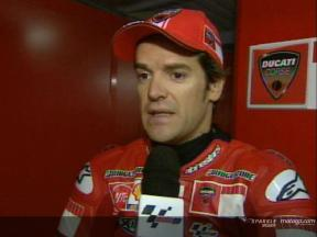 Carlos Checa interview after the race