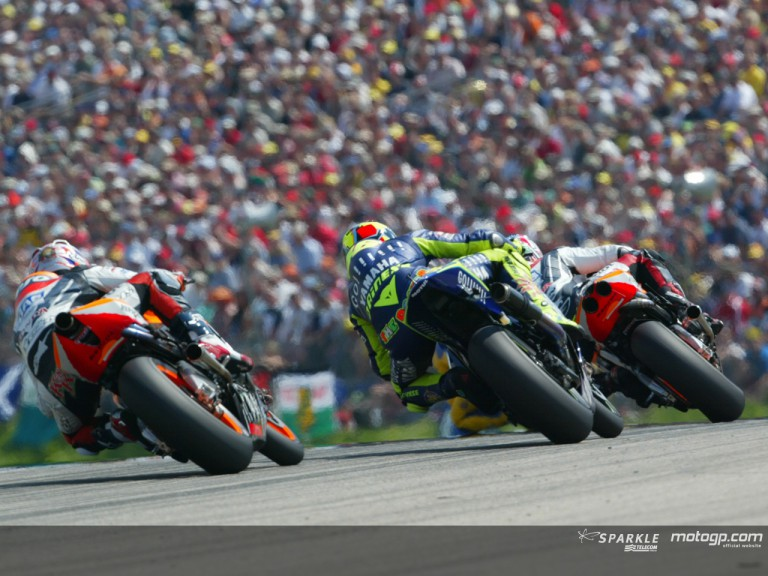 Group MotoGP Sachsenring 2004