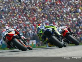 Group MotoGP Sachsenring 2004