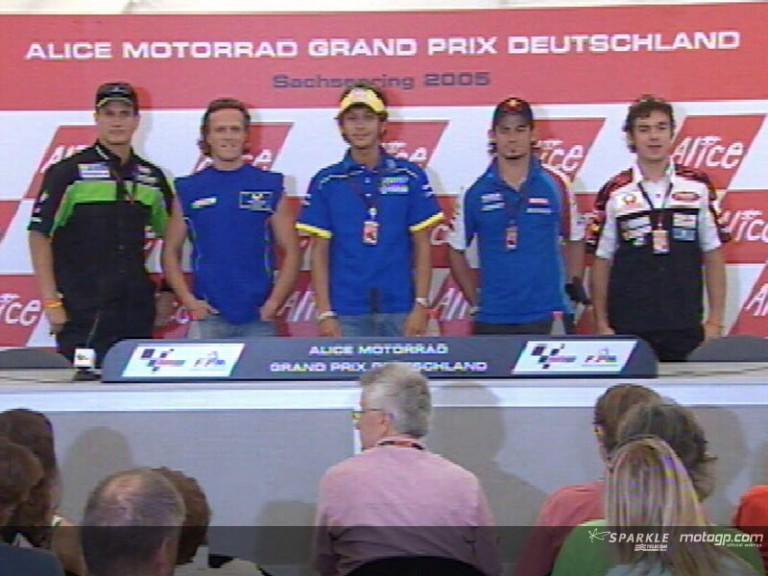 Press conference Sachsenring