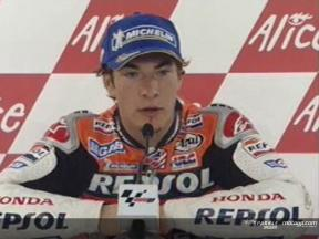 Nicky Hayden Interview nach dem QP