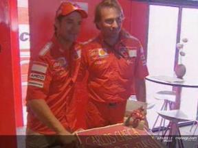 Checa festeggia il suo 150º GP nella classe regina