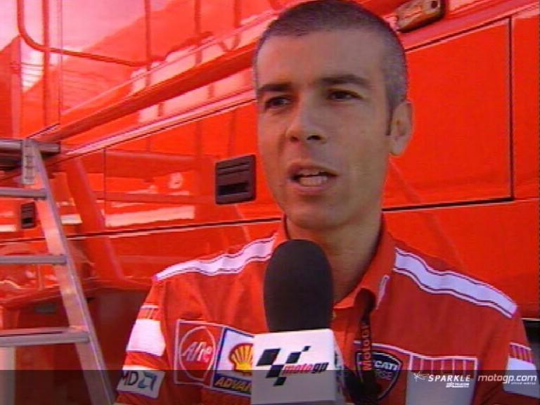 Expert Eye: Corrado Cecchinelli, Ducati Marlboro´s Technical Director