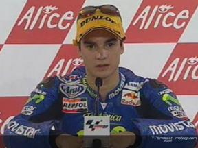 Daniel Pedrosa interview after race