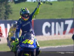 Rossi celebrates 150th Grand Prix at Sachsenring