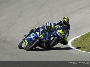 Rossi Gibernau clash