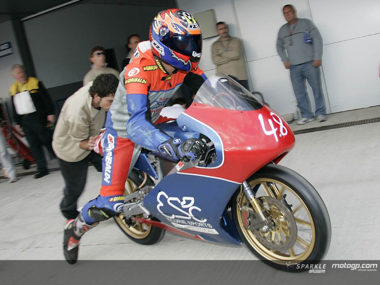 David Bonache - pit out Jerez 2005