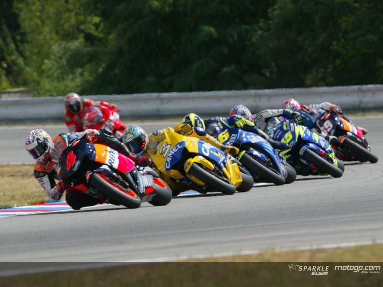 Group MotoGP Brno 2004