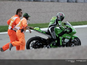 Crash Jacque Sachsenring