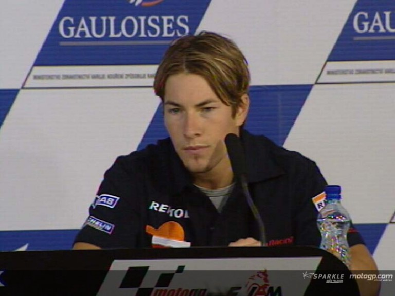 Nicky Hayden interview  - Pre-Event Press Conference