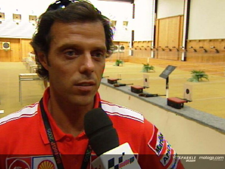 Loris Capirossi interview - Pre-Event Press Conference