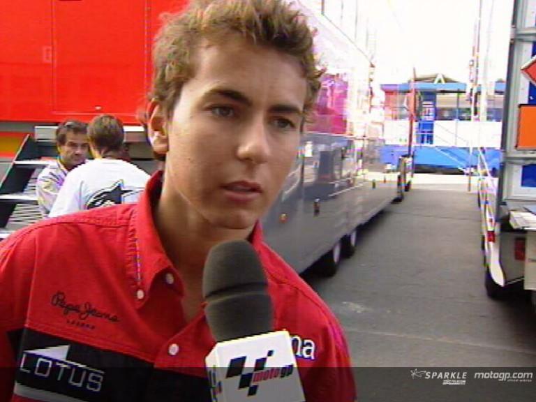 Jorge Lorenzo interview