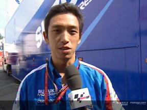 Nobu Aoki, troisième homme du team Suzuki à Brno