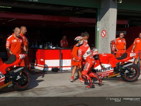Ducati Marboro carries out pitstop rehearsal at Brno