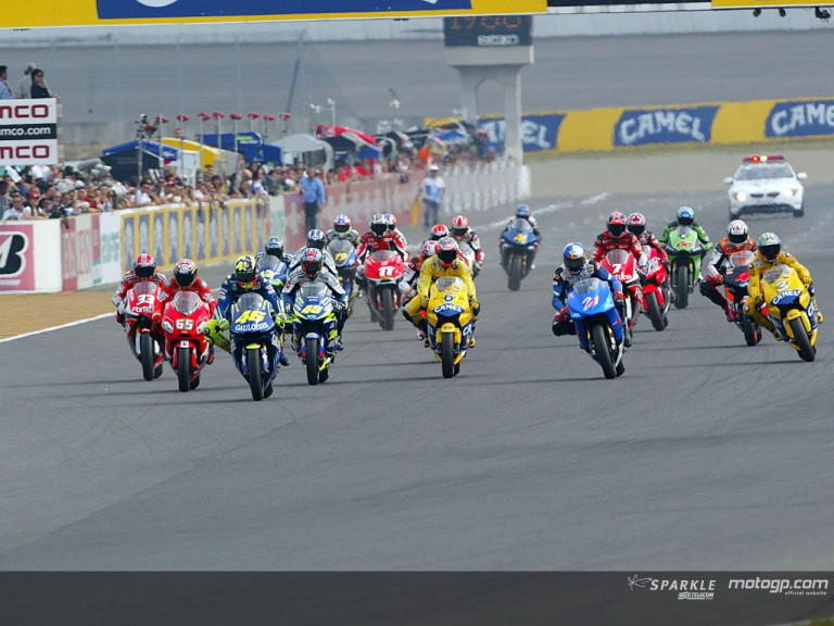 Group motogp Motegi 2004