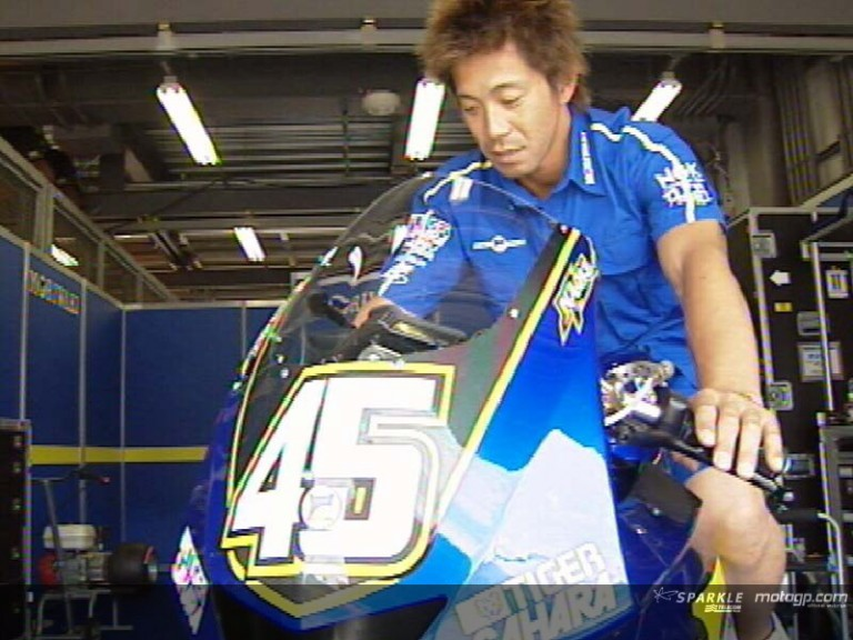 Matsudo gets ready for MotoGP debut with Moriwaki