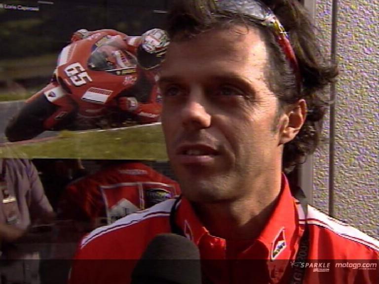 Capirossi on his future with Ducati