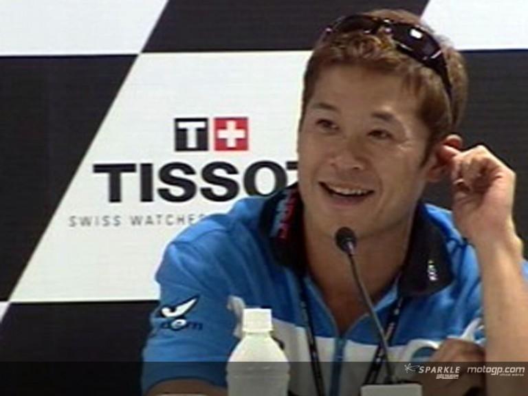 Makoto Tamada interview at the Press Ponference