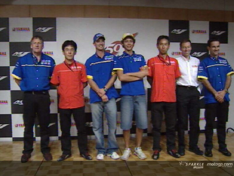 Yamaha reveals the development targets of the 2005 YZR-M1