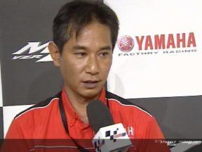 Yamaha M1 Projektführender Masahiko Nakajima