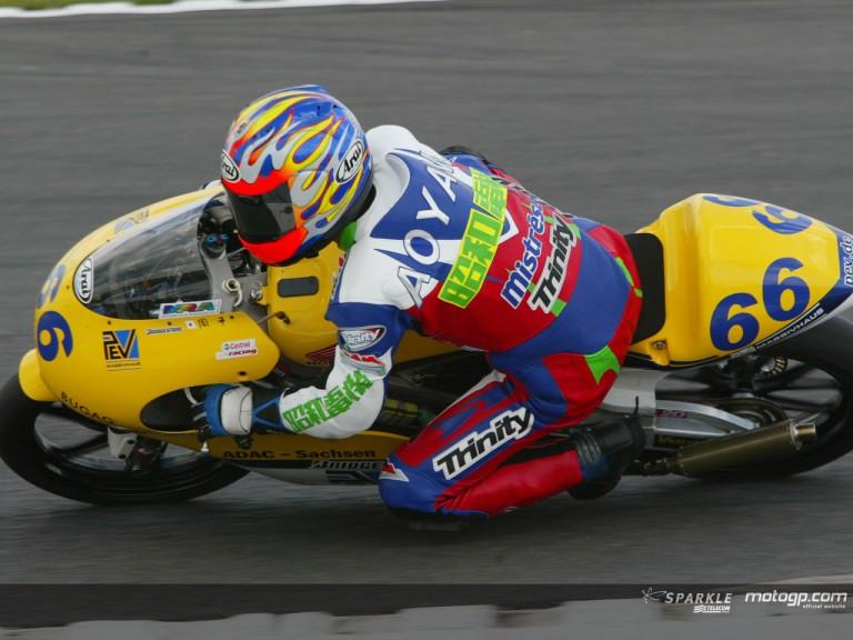 Aoyama Suhei 2002 Donington
