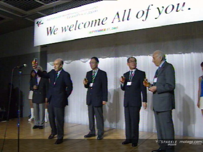 Welcome Party at the Twin Ring Motegi circuit
