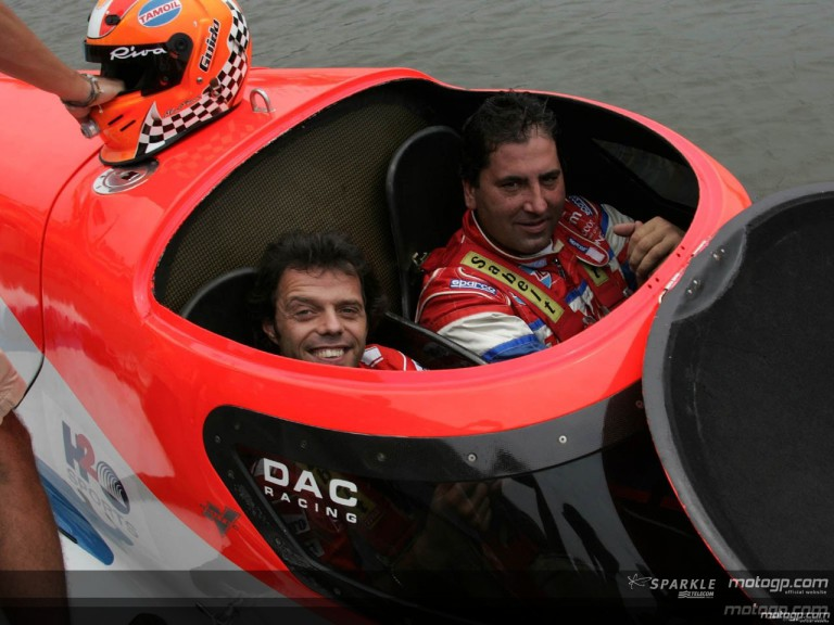 MotoGP riders making splash in Powerboat