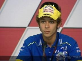 Intervista a Valentino Rossi  - Press Conference