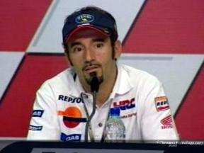 Intervista a Max Biaggi - Press Conference