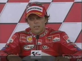 Interview de Loris Capirossi apres QP