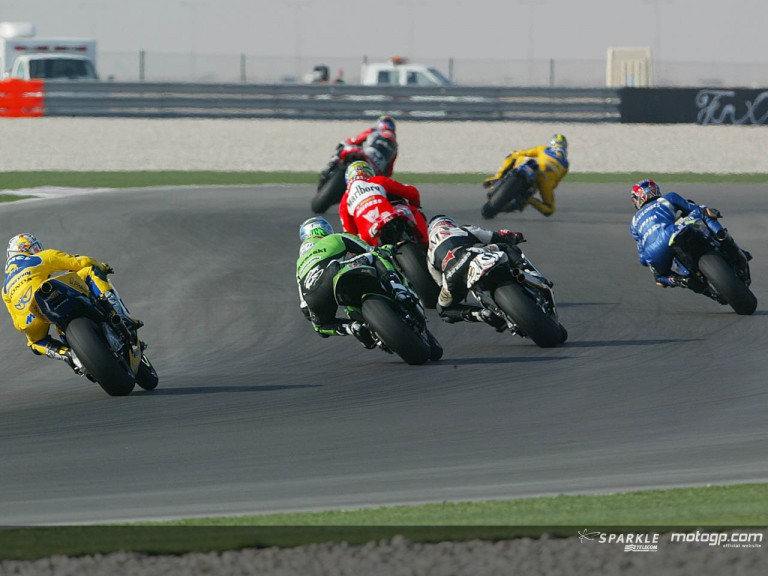 Group motogp Qatar 2004