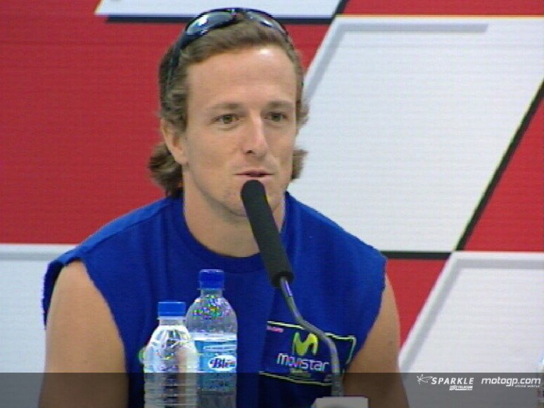 Sete Gibernau interview at the Press Conference